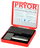 "Pryor Alphanumeric Imperial Fount Set, 6 mm (1/4"") - TIFH060"