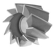 "TMX HSS Shell End Mill, 2-3/4"" Mill Dia., 1"" Hole Size, 1-5/8"" LOC, 10 Flutes - 5-450-035"