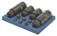 Support Screw Jack Set in Fitted Wooden Base - 97-950-0