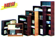Wood & Metal Bookcases