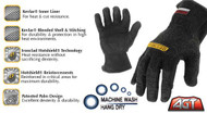 Ironclad Heatworx Reinforced Gloves Up To 450°F, Medium - HW-02M