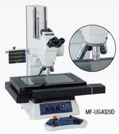 Mitutoyo Motor Driven Microscope MF-UD w/ Turret Mounted Objectives - MF-UH4020D