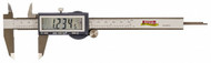 """SPI IP54 6"""" Electronic Caliper with 1/2"""" Easy Read Display - 18-010-9"""