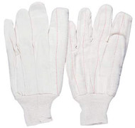 PRO-SAFE Cotton Canvas Gloves, Men's Heavy-Duty Work Gloves - 56-225-6