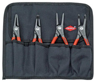 Knipex 4 Piece Snap Ring Plier Set #001957 - 63-130-9