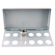 Precise R-8 Collet Rack, Holds 12 Collets - 650136