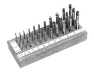 MICHIGAN DRILL HIGH SPEED 33PC. HAND TAP SET - 770S