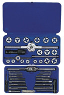 "IRWIN 41 Piece Tap & Die Set 24606, #4 Thru 1/2"" - 12-000-606"