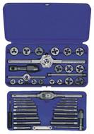 IRWIN 41 Piece Metric Tap & Die Set 26317, 3mm Thru 12mm - 18-999-023