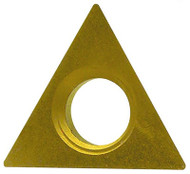 """Everede Indexable Carbide Turning Insert, 60° Triangle TDAB-15, 0.016"""" Radius, Grade CVM2 - 24-570-877"""