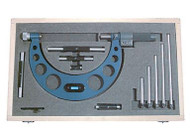 "FOWLER E-Z Read Interchangeable Anvil Micrometer Set 0-6""  - 57-002-520"
