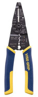 """IRWIN VISE-GRIP Stripper, Crimper & Cutter Type Wire Strippers #2078309, 10-22 AWG Capacity, 8-1/2"""" Overall Length - 61-162-213"""