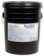 Rustlick PowerSaw Synthetic Sawing Coolant #76205, 5 Gallon Pail - 81-006-100