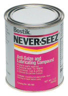 Bostik Never-Seez Regular Copper Grade Anti-Seize, 1 lb. Flat Top - 81-006-500
