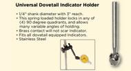 Asimeto Universal Dovetail Indicator Holder - 7500410