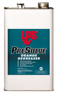 LPS Labs PreSolve Orange Cleaner/Degreaser, 1 Gallon - 81-001-191