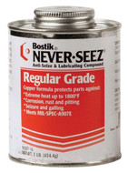 Bostik Never-Seez Regular Copper Grade Anti-Seize, 1 lb. Brush Top - 81-006-515