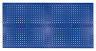 Kennedy 4-Panel VTC Toolboard Set w/ 60pc. Toolholder Set, Classic Blue - 50004BL