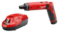 "Milwaukee M4 1/4"" Hex Screwdriver Kit - 2101-21"