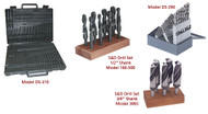 Precise High Speed Steel Drill Sets - 404-3121