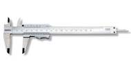 "Asimeto Vernier Calipers - Thumb Clamp, 0-6"" / 0-150mm - 7351064"