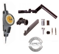 Asimeto Extended Range Dial Test Indicator SET, Horizontal Set - 7504811