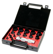Allpax Hollow Punch Set, 16 pc. Inch - AX1301