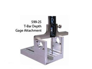 "Precise T-Bar Depth Gage Attachment 3"" Wide - 599-25"
