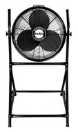 """Air King Pivoting Industrial Grade Floor Fan with Roll-About Stand, 18"""" 1/6 HP - AK9219"""