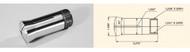 Bison 5C Series Round Collet (Inch) - 5CR-1/32