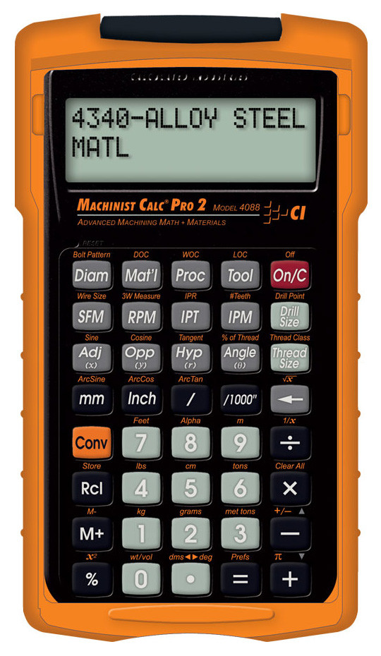 Calculated Industries Machinist Calc Pro 2 - 4088 - Penn