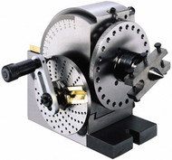 """Precise Precision Semi Universal Dividing Head with 10"""" Swing - 202-203"""
