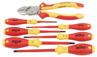 Wiha Insulated BiCut SuperCut and Screwdrivers 7 Piece Set - 32942