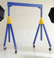 Vestil Fixed Height Steel Gantry Cranes, Knockdown