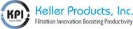 "Keller Small Bag Filter Housing, 3/4"" ports, Aluminum - BA-0475"