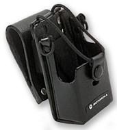"Motorola Leather Case with 3"" Swivel Belt Loop for RDX Series Radios - RLN6302A"