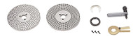 "Vertex Dividing Plates for 10"", 12"" & 14"" Rotary Tables - 3900-2394"