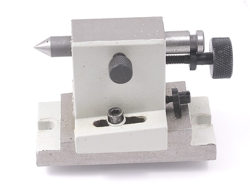 "VERTEX ADJUSTABLE TAILSTOCK FOR 4-6/"" ROTARY TABLES 3900-2407"
