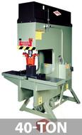 Kalamazoo Metal Muncher Series GB40 40 Ton Gap Bed Hydraulic Punch Press - GB40