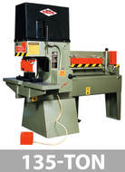 Kalamazoo Metal Muncher Series MM135 135 Ton Complete 5-Station Fabrication Center - MM135A