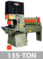 Kalamazoo Metal Muncher Series MM135 135 Ton Complete 5-Station Fabrication Center - MM135A18