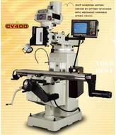 Manford CNC Turret Milling Machine CV-400 w/ Heidenhain Acu-Rite Controller
