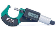 """Insize Electronic Micrometer, 3-4"""" - 3109-100"""