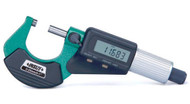 """Insize Electronic Micrometer, 0-1"""" - 3109-25"""