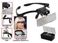 Eurotool LED Magnifier with 5 Lenses - ELP-545