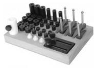 TE-CO CMM Basic 1/4-20 Fixturing Kit - 14301