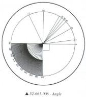 Fowler 10x Reticle #6 - 52-661-006