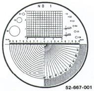 Fowler 7x Reticle #1 - 52-667-001