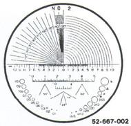 Fowler 7x Reticle #2 - 52-667-002