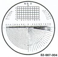 Fowler 7x Reticle #4 - 52-667-004